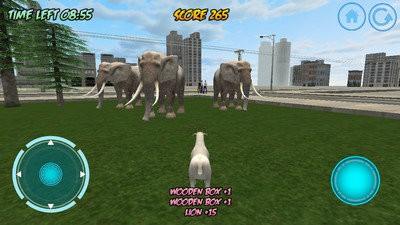 疯狂山羊模拟器中文版