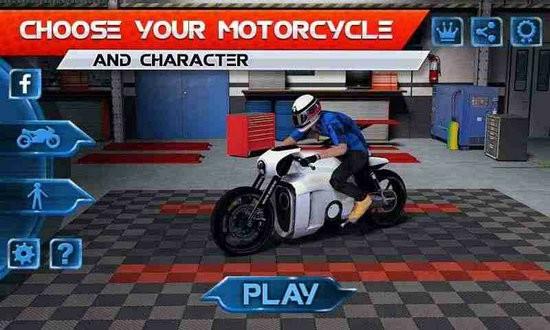 摩托交通竞赛无限金币版