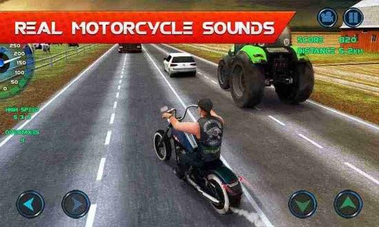 摩托交通竞赛