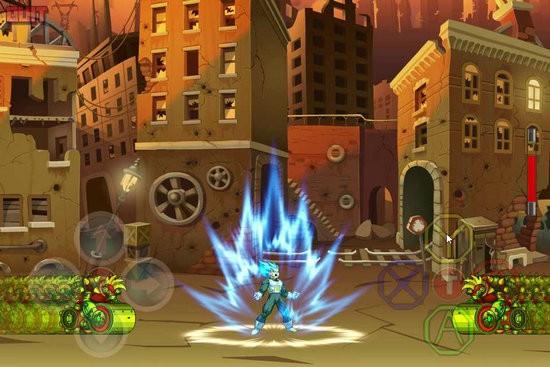 超级蓝战士破解版