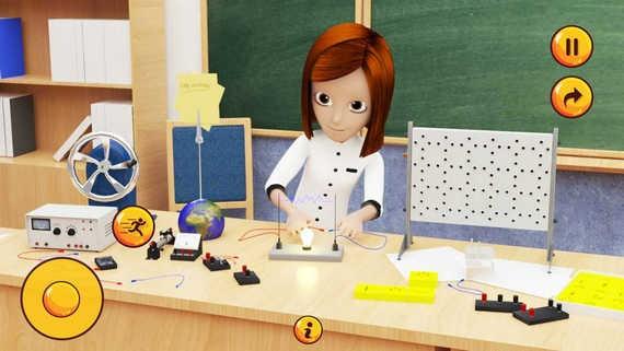 高中女生模拟器汉化破解版