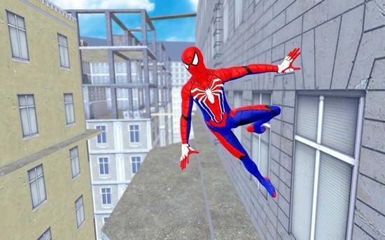 蜘蛛英雄战斗歹徒绳之战犯罪城最新版