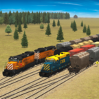 火车和铁路货场模拟器游戏