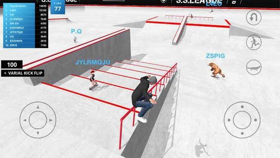 滑板空间游戏下载