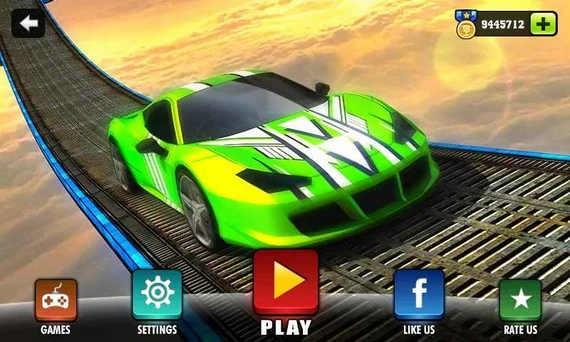 不可能的特技汽车游戏下载