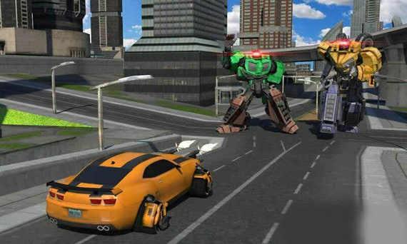 城市机器人战斗无限金币版