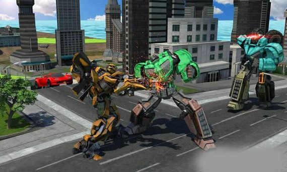 城市机器人战斗破解版下载