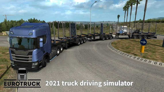 欧洲卡车驾驶模拟器
