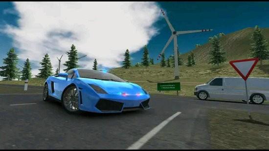欧洲豪华轿车模拟器