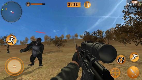 荒野狩猎模拟游戏破解版