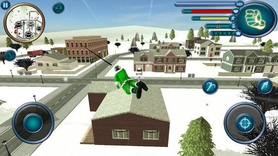 圣诞老人绳索英雄模拟器游戏下载