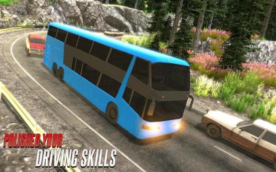 终极教练公交车模拟器无限金币版