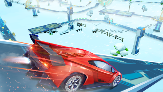 超级坡道银河赛车游戏破解版