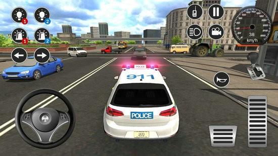 警车游戏模拟2021破解版