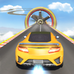 超级斜坡汽车特技赛车游戏