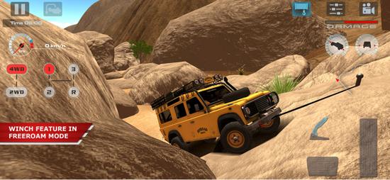越野驱动沙漠无限金币版