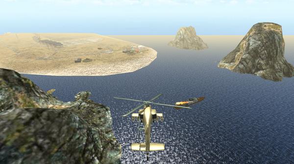武装直升机模拟机3D战斗空袭破解版