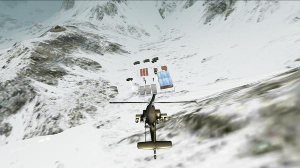 武装直升机模拟机3D战斗空袭