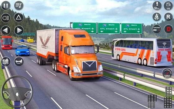 欧洲卡车驾驶模拟器3D