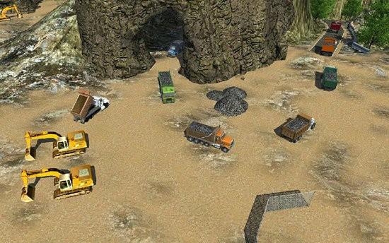 洞穴矿建设模拟器破解版