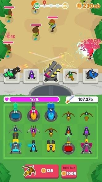 合并塔僵尸防御最新版