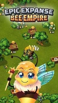 空闲蜜蜂帝国无限金币版