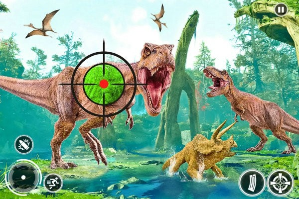 野生开放恐龙猎杀