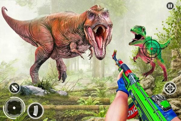 野生开放恐龙猎杀游戏下载