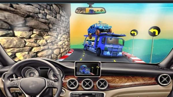 专业警车运输游戏下载