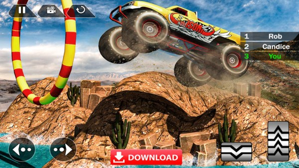 怪物赛车游戏下载