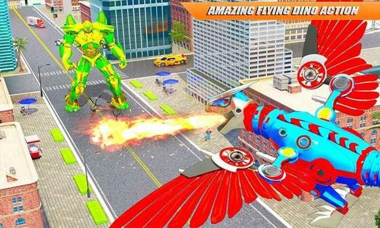 飞行恐龙机器人破解版