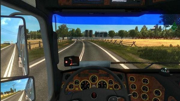 货运卡车运输驾驶