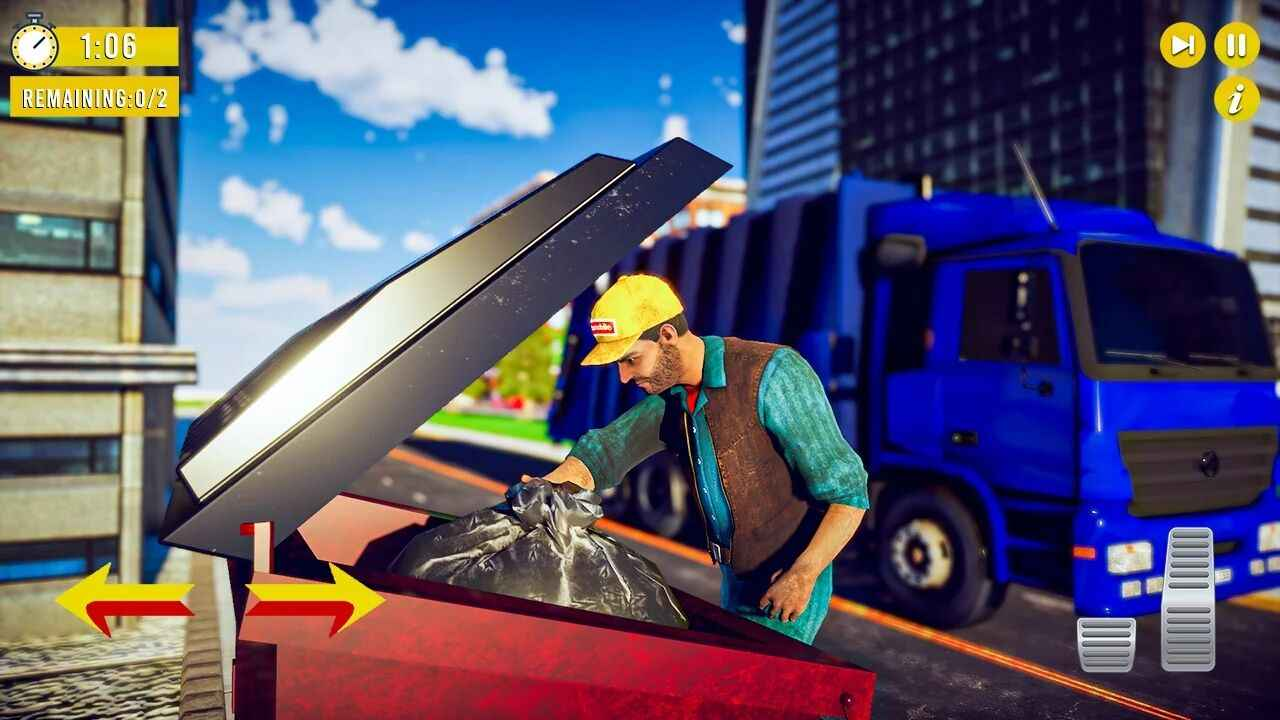 垃圾卡车模拟器