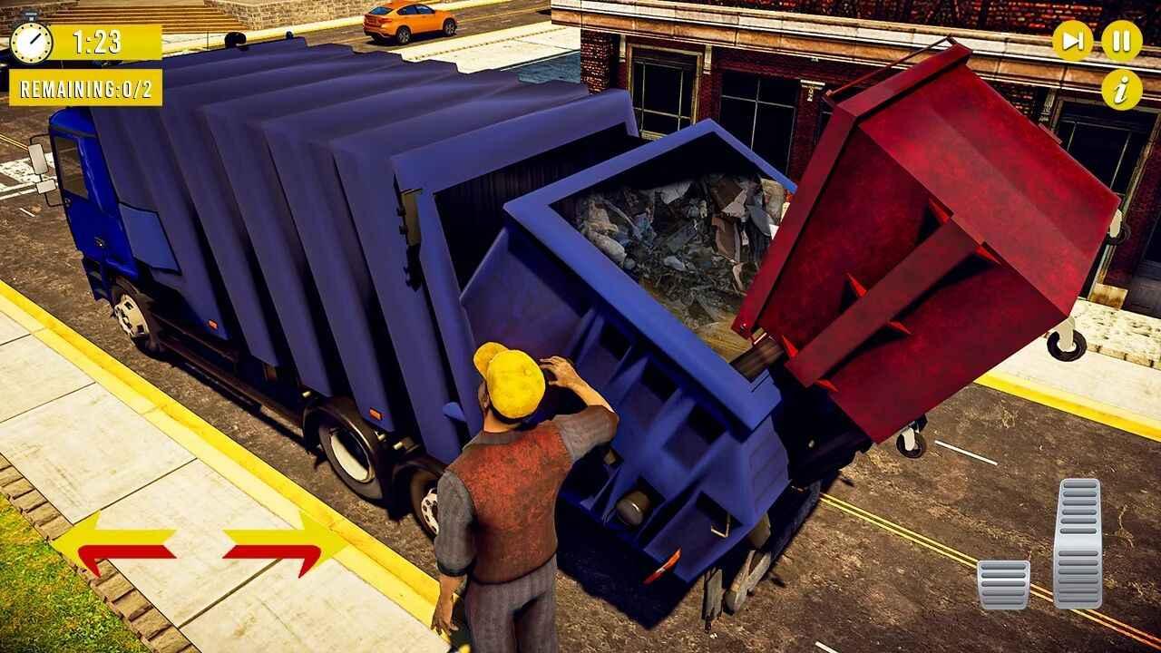 垃圾卡车模拟器无限金币版