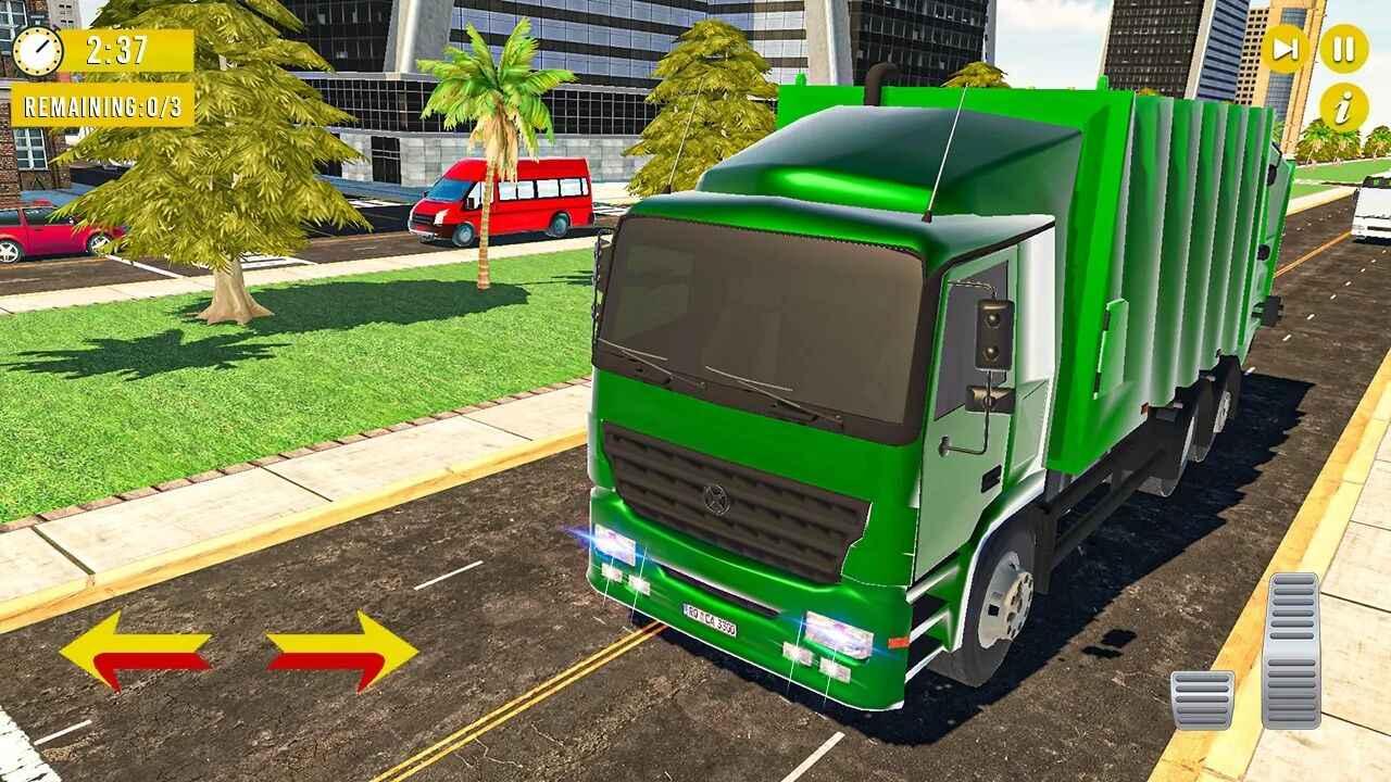 垃圾卡车模拟器(魔玩单机)