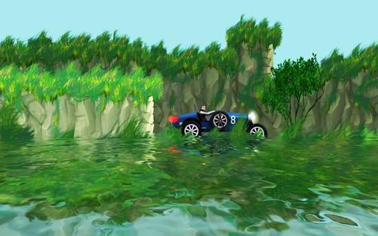 流亡山赛车无限金币版