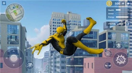 蜘蛛英雄开放之城手机版