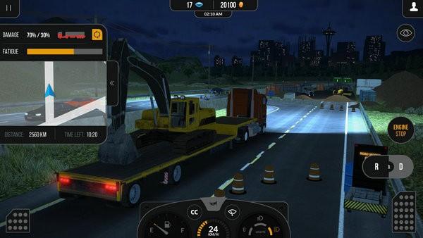 卡车模拟器pro2中文版下载