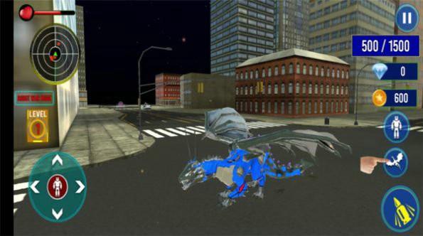 怪兽卡车机器人破解版
