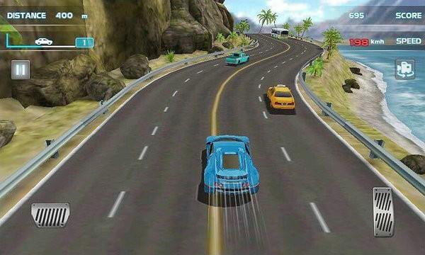 涡轮增压赛车3D游戏下载