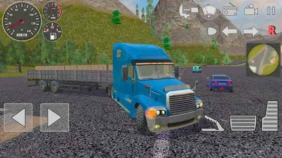 交通硬卡车模拟器破解版