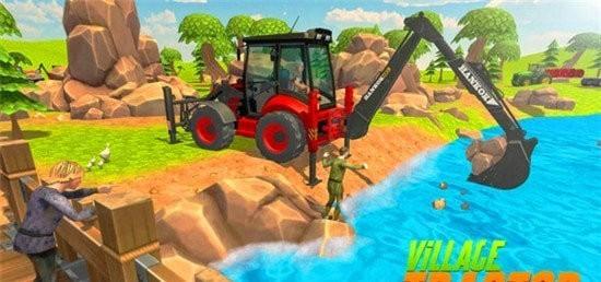 虚拟村庄挖掘机模拟器无限金币版