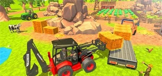 虚拟村庄挖掘机模拟器手机版