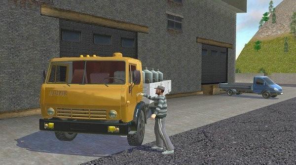 硬卡车模拟器无限金币版加修改版