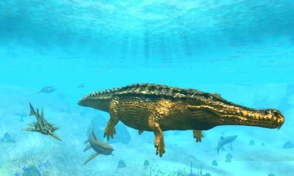 海底巨鳄模拟器游戏中文版