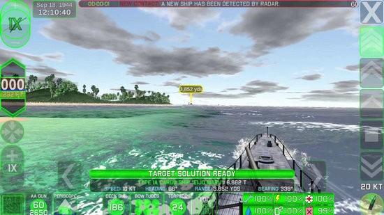战术潜艇2无限鱼雷版