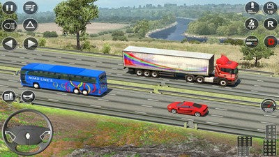 欧元卡车驾驶模拟器中文最新版
