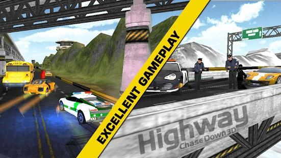 高速公路追逐赛3D破解版