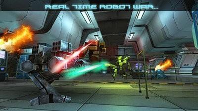 未来派机器人战争机器手游下载