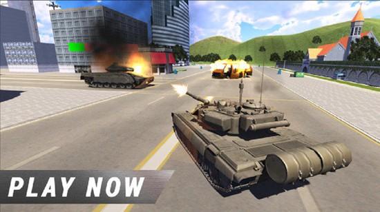 顶级军队坦克中文版